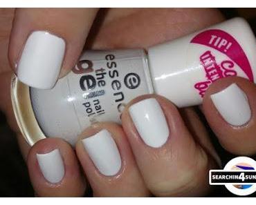 [Nails] Lacke in Farbe ... und bunt! WEIß mit essence 33 wild white ways