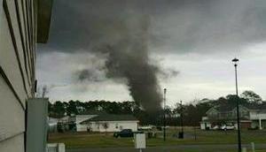 Tornado US-Bundesstaat Georgia