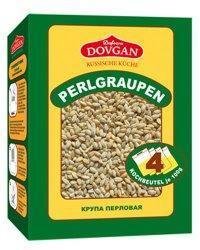 Perlgraupen Brei mit Eiweiß und Vitaminen