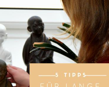 5 Tipps für langes, kräftiges Haar