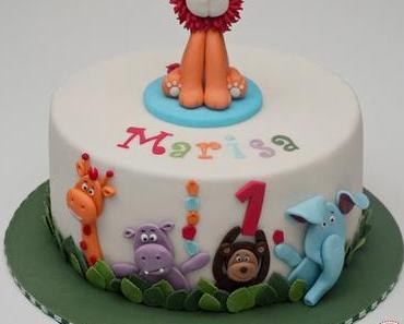 Torte für den ersten Geburtstag