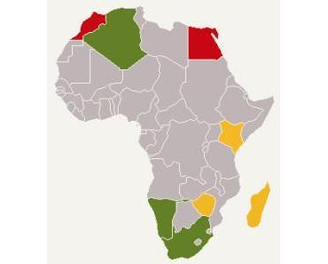 Drohnen-Gesetze in Afrika