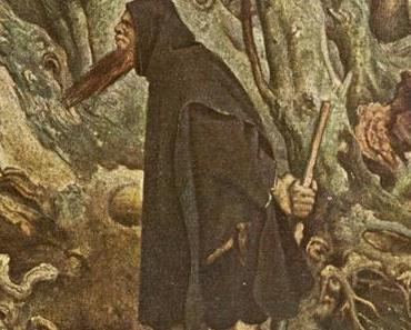 Sage vom Berggeist Domine Johannes - Rübezahl - und der Kräutersammlerin