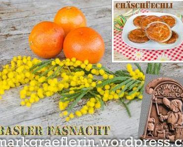 Schweizer Chäschüechli zur Basler Fasnacht