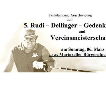 Einladung zum 5. Rudi Dellinger Gedenklauf