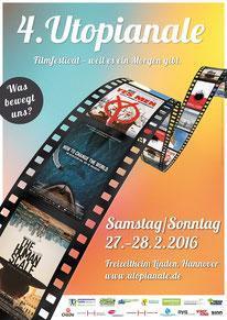 Filmfestival Utopianale Nr. 4, 2016 - in Hannover, 27. und 28. Februar