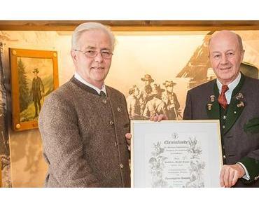 Ehrung für Prof. Granser im Jagdmuseum Mariazell