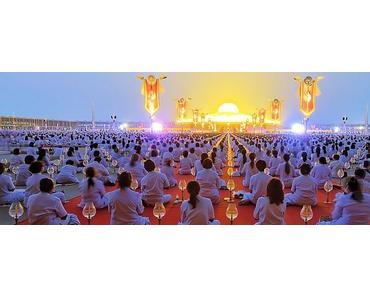 Geheimtipp Thailand: Buddha Meditations-Zeremonie im weltgrößten Tempel