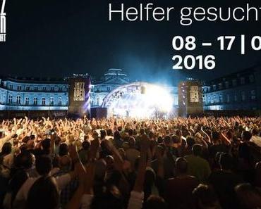 Stuttgarter JAZZOPEN sucht Helfer/innen