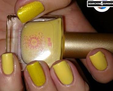 [Nails] Lacke in Farbe ... und bunt! GELB mit p2 CULTURE SPIRIT 020 amber & MANHATTAN&Playboy 04 Grrrrreen