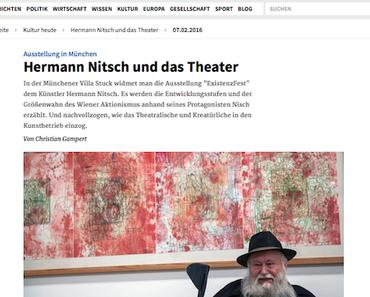Hermann Nitsch ExistenzFest. – und jetzt die Presseschau