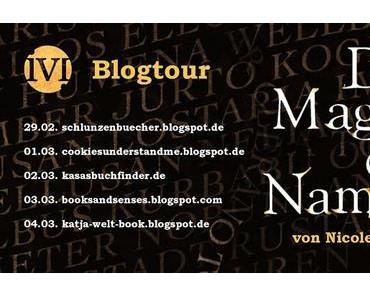 """[Blogtour] """"Die Magie der Namen"""" von Nicole Gozdek - Tag 5 """"Karten und Fantasyromane"""""""