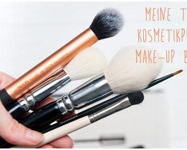 Meine 5 liebsten Kosmetikpinsel/MakeUp Brushes