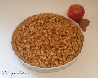 Spekulatius Apfel Tarte - Apfelkuchen mal anders