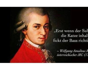 Amadeus, Amadeus ♫♪ – Mozart sinniert über den Bass
