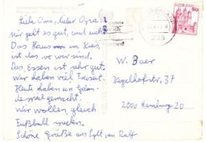 Christel von der Post!