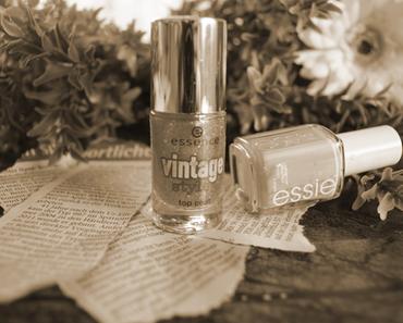essence vintage style topcoat – sweet memories