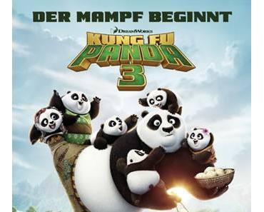 Mampfen und kämpfen: Po ist mit Kung Fu Panda 3 wieder da!