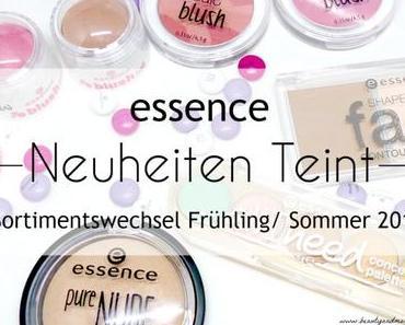 essence Sortimentswechsel Frühling/ Sommer 2016 Neuheiten Teint – Review + Swatches