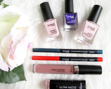 trend IT UP - Neue Farben im Makeup Sortiment 2016