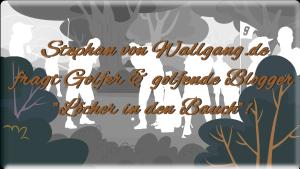 """Neue Serie: Stephan fragt """"Löcher in den Bauch!"""""""