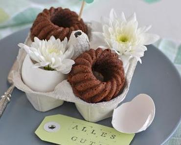Schokoladen Minigugl und frohe Ostern