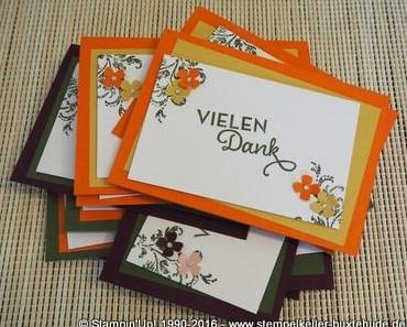 Danke Karten mit Stampin'Up!
