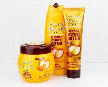 [Review] Garnier Fructis Oil Repair 3 Wunder Butter Serie*