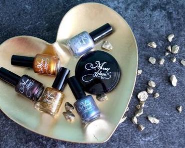 Immer mal was Neues: Highlighter und Nagellacke von  Moonshine Mineral Makeup!