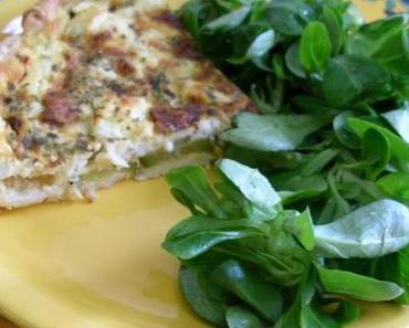 Zucchini-Feta-Tarte