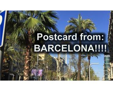 Postkarte aus: Barcelona!?