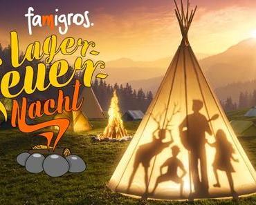 Sommerzeit ist Zelt und Lagerfeuerzeit