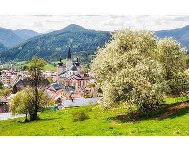 Bild der Woche: Basilika Mariazell im Frühling