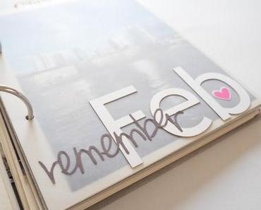 memorybook {februar 2016} + wie ich meine fotohüllen gestalte