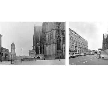 Plätze in Deutschland 1950 und heute
