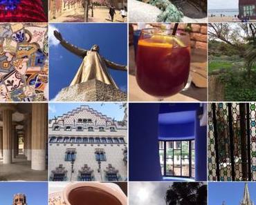 Von Gaudi, Gotik und Gärten – oder – #Sonntagsglück: Augenblicke aus Barcelona