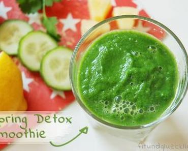 {Green Smoothie} Spring Detox