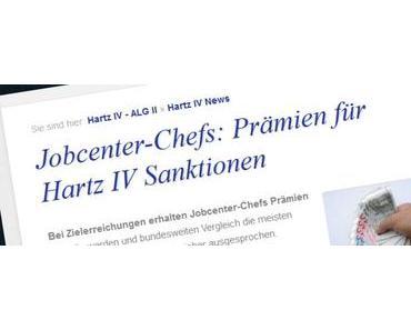 Jobcenter-Chefs: Prämien für Hartz IV Sanktionen