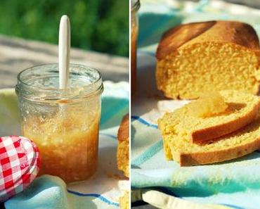 Polenta-Brot {Brot backen ohne Hefe & Wartezeiten!}
