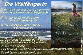 """Blogtour: """"Die Walfängerin"""" von Ines Thorn - Das Protagonisteninterview"""