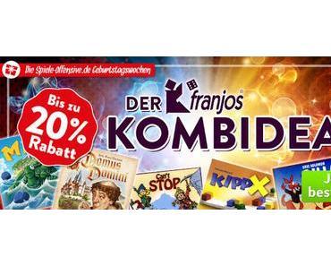 Spiele-Offensive Geburtstagswochen 2016 - Der franjos Kombideal