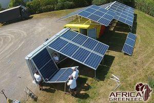 Neue Solarcontainer für sauberen Strom in Mali im Crowdfunding