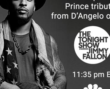 Videotipp: D'Angelo zollt #Prince mit dem Klassiker 'Sometimes it snows in April' Tribut