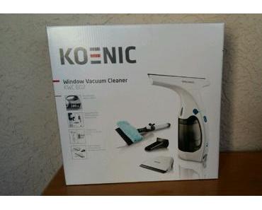 KOENIC Window Vacuum Cleaner KWC 602- der Fenstersauger mit Zusatzfunktion