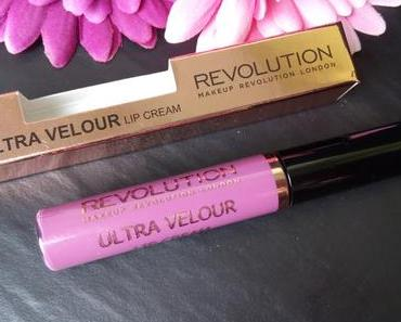 Makeup Revolution – Ultra Velour Lip Cream  * Not one for playing games *  Swatches & Review