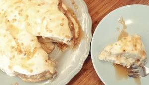 Rhabarber-Joghurt-Torte (vegan)
