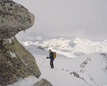 Granatspitze: Skitour mit Gratkletterei