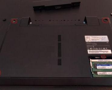 Laptop um eine zweite Festplatte erweitern