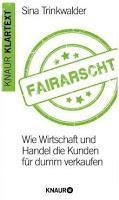 [Rezension] Fairarscht (Sina Trinkwalder)