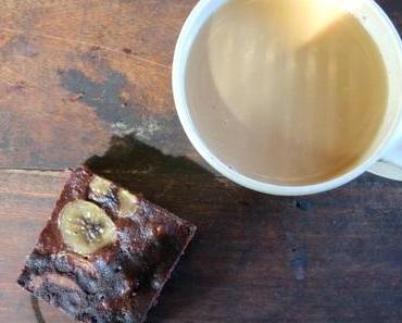 schokoladig leckere vegane Bananen BrowniesWie schon beri...
